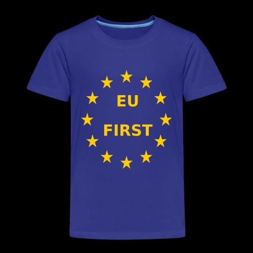 EU First Europe First - Kinder Premium T-Shirt