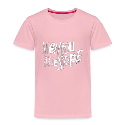MENFOUMENTAPE blanc et noir by Alice Kara - T-shirt Premium Enfant