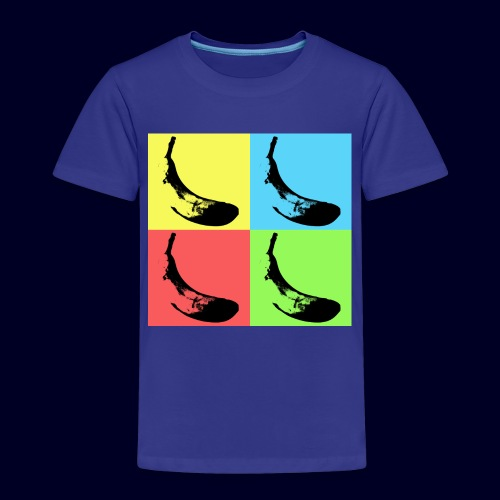 Pop Art Bananas - Maglietta Premium per bambini