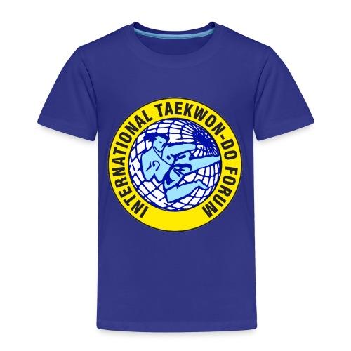 ITF TAEKWON-DO - Camiseta premium niño