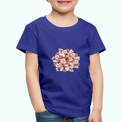 Hippie Aquarell Blumen - Kids' Premium T-Shirt