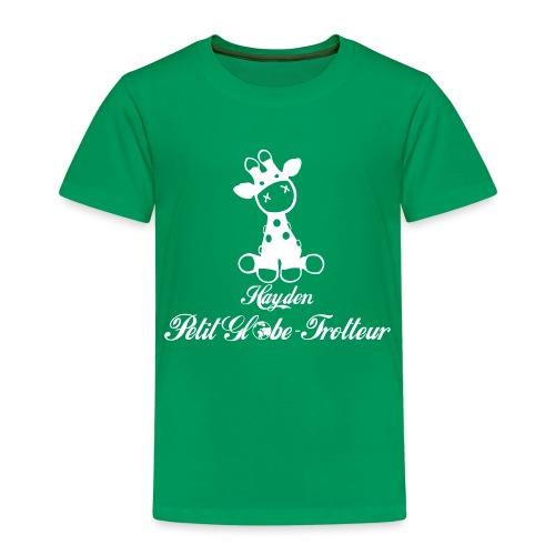 Hayden petit globe trotteur - T-shirt Premium Enfant