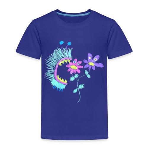 eating flowers - Kinderen Premium T-shirt