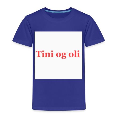 Tini og oli merch - Premium T-skjorte for barn