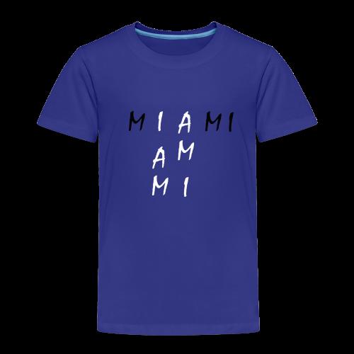 Miami Collection - Premium T-skjorte for barn