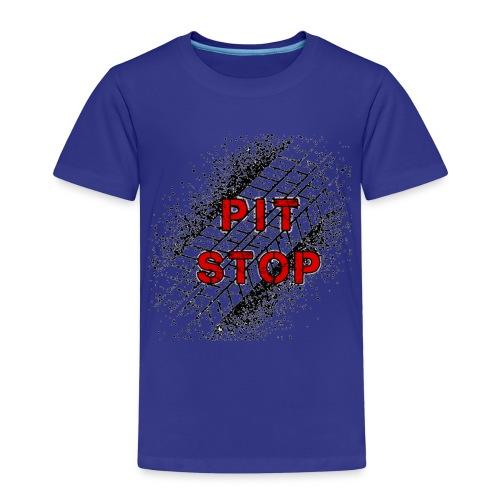 Logo Pit Stop - Camiseta premium niño
