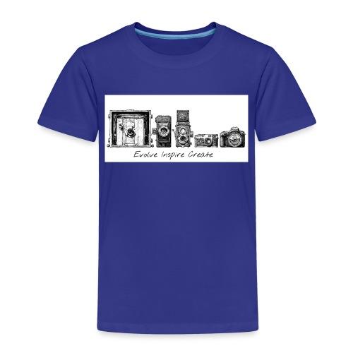 My Evolve-Inspire-Create logo - Kids' Premium T-Shirt