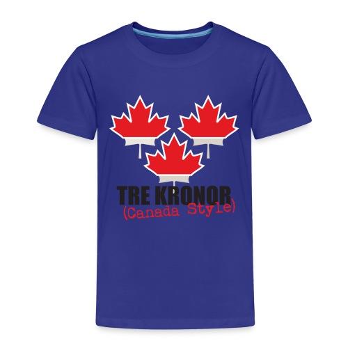 3kronorCanada1 - Kids' Premium T-Shirt