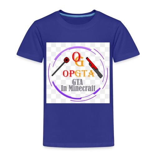 opgta logo - Lasten premium t-paita