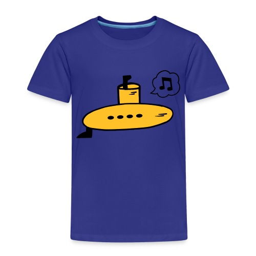 Singing Yellow Submarine - Kids' Premium T-Shirt