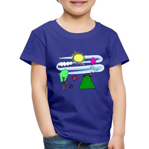 Paz en la Montaña - Camiseta premium niño