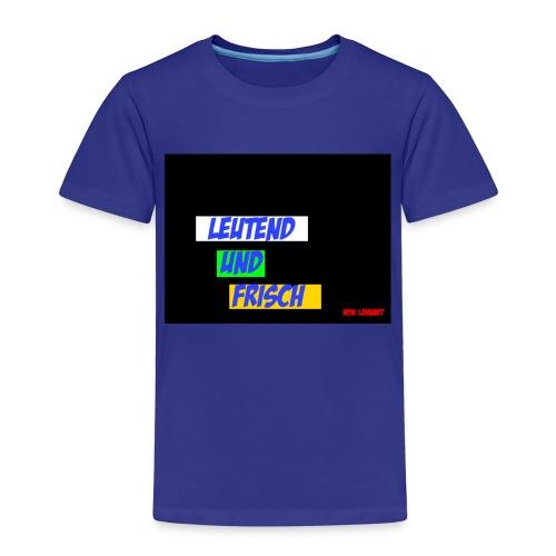 Leuchtend und frisch - Kinder Premium T-Shirt