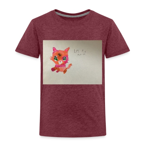 Little pet shop fox cat - Kids' Premium T-Shirt