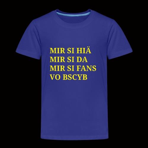 BSCYB - Kinder Premium T-Shirt