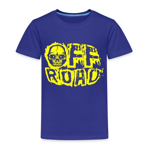 11A-12 OFF ROAD SKULL Textiles and gift products - Lasten premium t-paita