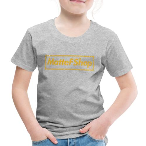 Gold Collection! (MatteFShop Original) - Maglietta Premium per bambini