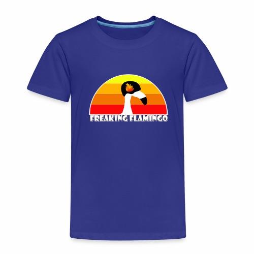 FF Flaming Flamingo - Kinder Premium T-Shirt