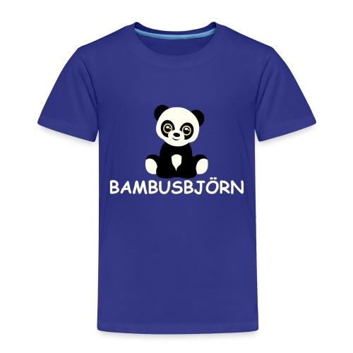 kleiner Bambus-Björn - Kinder Premium T-Shirt