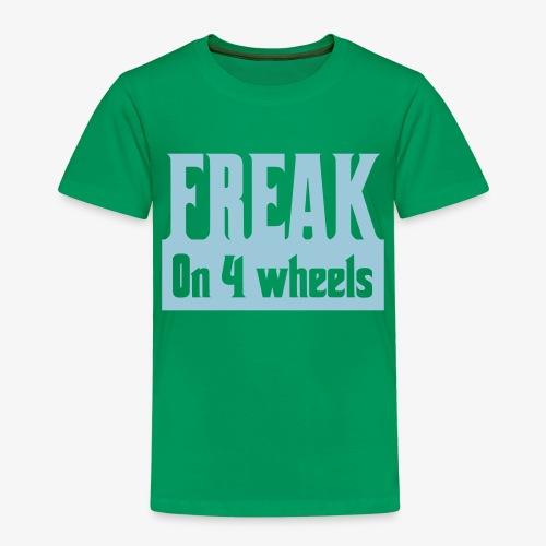 Gek op vier rolstoel wielen - Kinderen Premium T-shirt