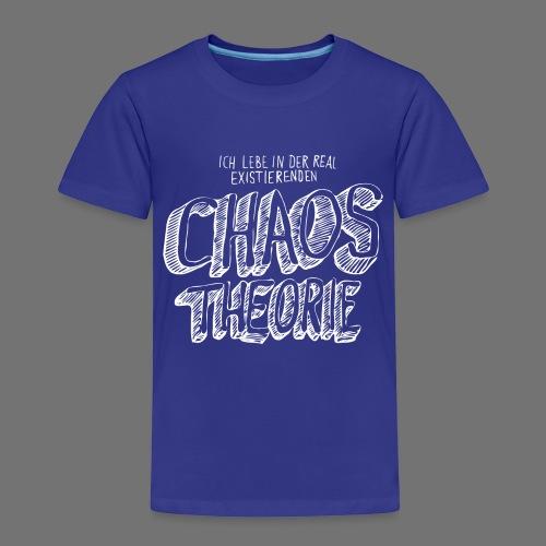 Chaos Theory (valkoinen) - Lasten premium t-paita