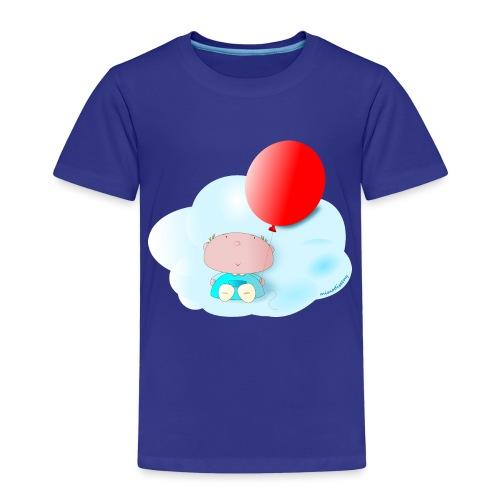 Petit amb globus - Camiseta premium niño