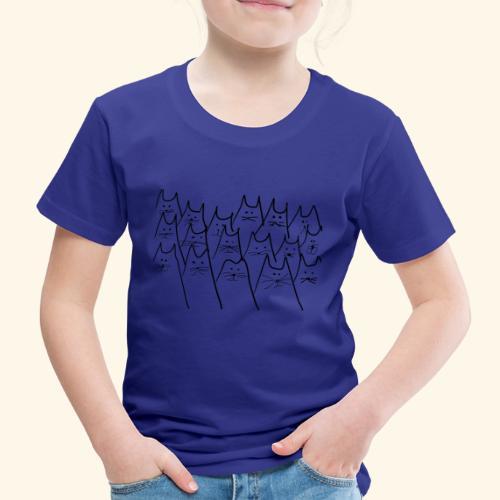 caaats - Kinder Premium T-Shirt