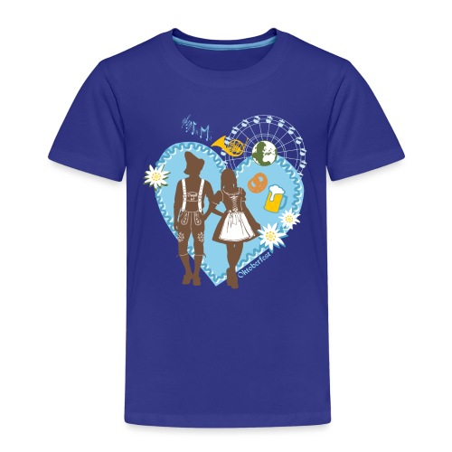 Oktoberfest_Trachtenpar 2 - Kinder Premium T-Shirt