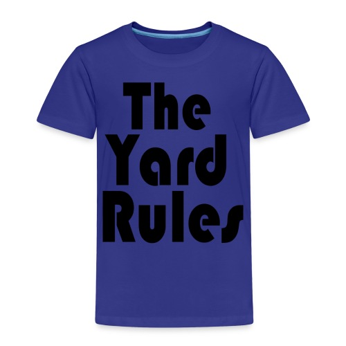 The Yard Rules (Philipp Edition) - Kinder Premium T-Shirt