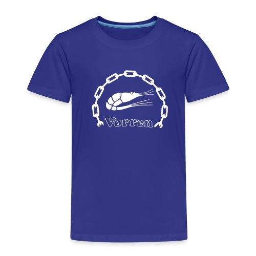 Vorren Logo CLASSIC [White] - Premium-T-shirt barn