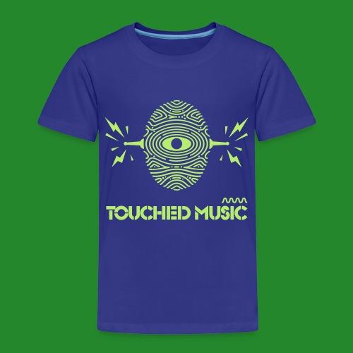 Touched Logo Orange and Navy - Kids' Premium T-Shirt