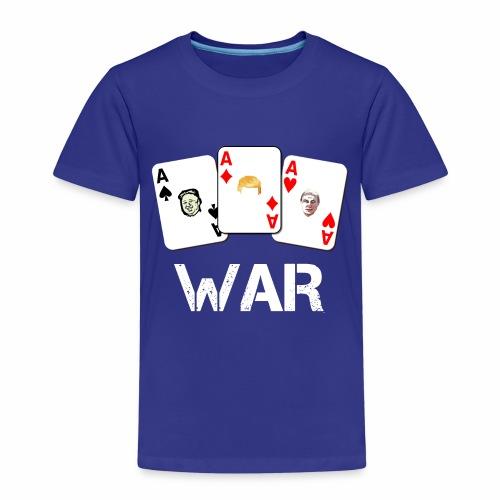 WAR / Guerra - Maglietta Premium per bambini