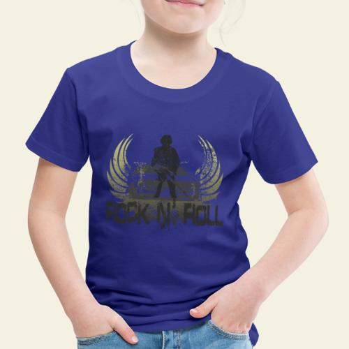 rock n roll camaro - Børne premium T-shirt