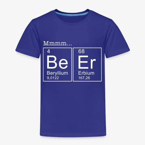 Beer Periodic Table of Elements - Kinder Premium T-Shirt