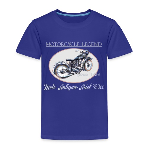 moto antigua - T-shirt Premium Enfant