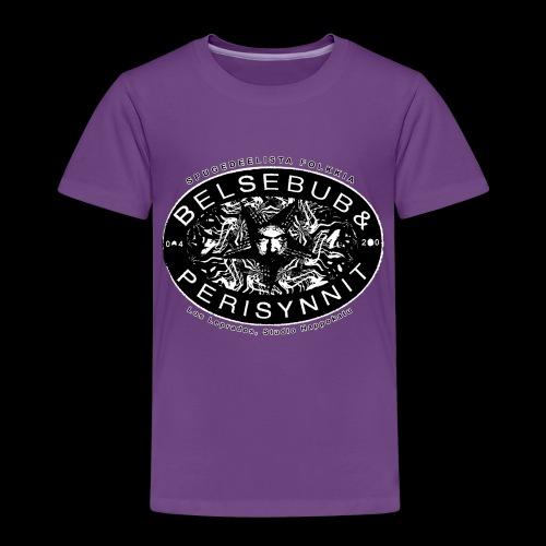 Belsebub&Perisynnit - Lasten premium t-paita