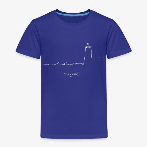 Skyline wit - Kinderen Premium T-shirt