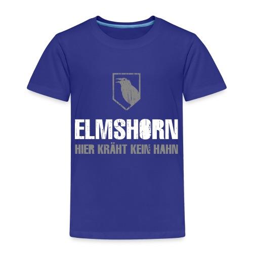 Elmshorn Krähe grau-weiß - Kinder Premium T-Shirt