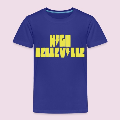 HIGH BELLEVILLE - T-shirt Premium Enfant