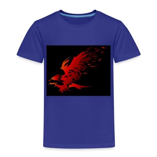 Feuer Adler - Kinder Premium T-Shirt