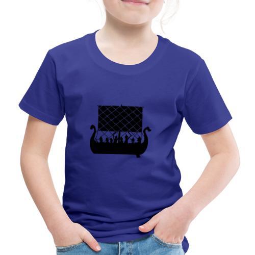 LongShip - Vikings - T-shirt Premium Enfant