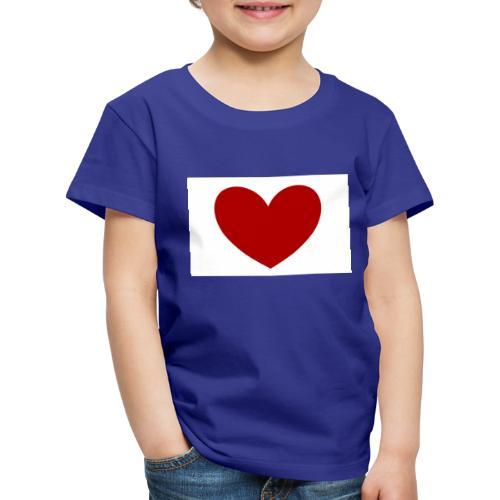 LeonyStella | Heart the world! - Kinder Premium T-Shirt