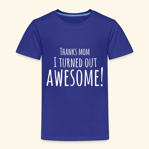 awesome - Kinderen Premium T-shirt
