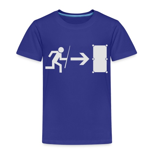 Emergency Exit Billard - Kinder Premium T-Shirt