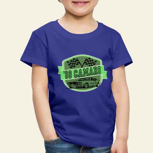 camaro logo - Børne premium T-shirt