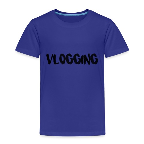 VLOGGING - Premium-T-shirt barn