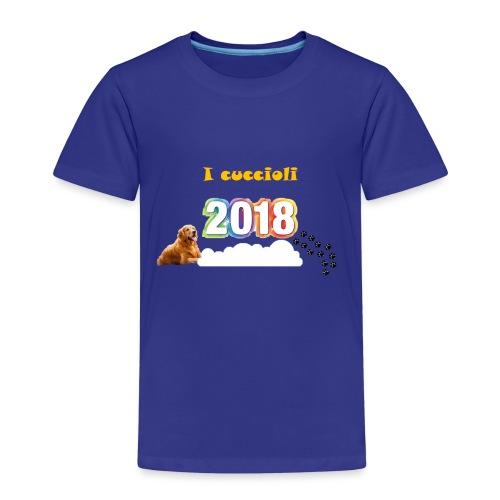 Magliette ufficiali 2018 dei cuccioli - Maglietta Premium per bambini