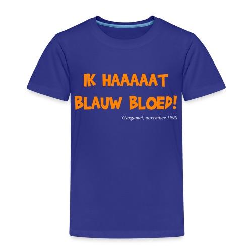 ik haat blauw bloed - Kinderen Premium T-shirt