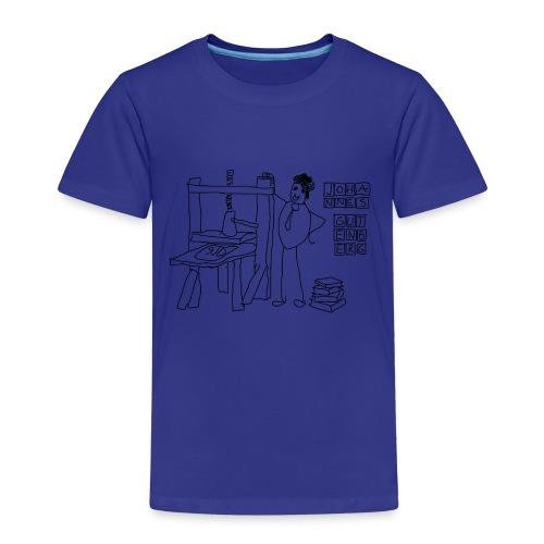 Gutenberg - Camiseta premium niño