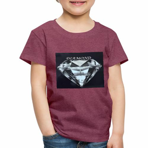 Diamond - Premium-T-shirt barn