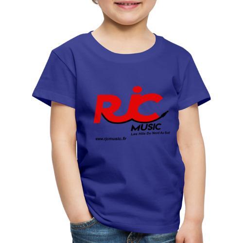 RJC Music avec site - T-shirt Premium Enfant